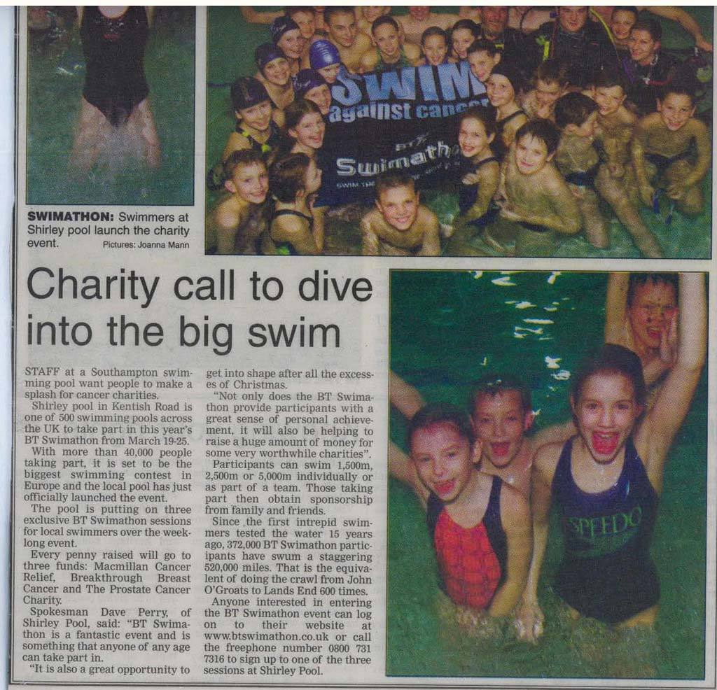 Charitycall shirley swimming pool - Shirley swimming pool southampton ...