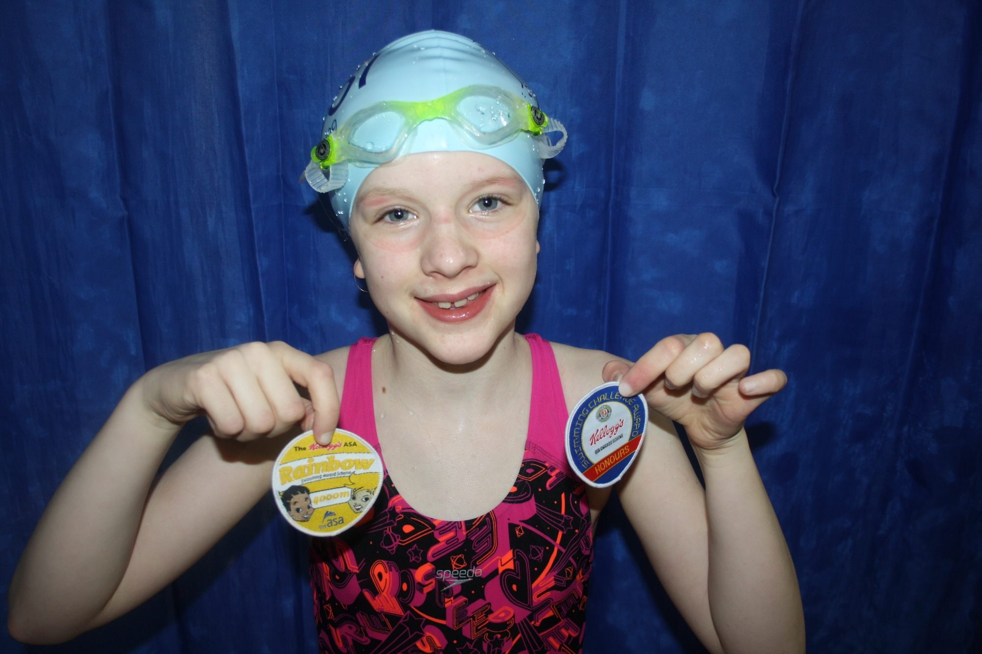 Star Swimmer Verity Shirley Swimming Pool